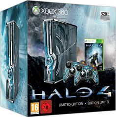 Halo 4 Xbox 360 320GB Console: Limited Edition: Image 01