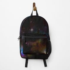 Rainbow Star, Star Stickers, Lightning Bolt, Backpacks, Fashion Backpack, Galaxy Print, Retro, Leather Backpack, My Arts