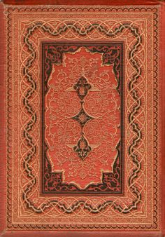 Old Books & Things.., michaelmoonsbookshop:   Ornate elaborate embossed...