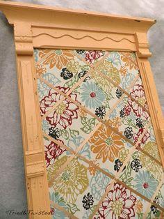 Tried & Twisted: DIY Antique Framed Memo Board