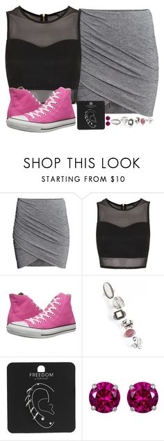 """We always start with good intentions but lose ourselves along the way"" by rocketsheep ❤ liked on Polyvore featuring H&M, Topshop, Converse, Reeds Jewelers, converse, lyrics and NothingMore"