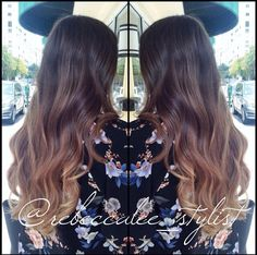 Balayage/ombré, haircut, and style by Becca. Studio Chroma Inc. Miami, FL #haircut #hairstyle #haircolor #hairpost #ombre #nauralombre #blondeombre #subtleombre #sombre #miamiombre #balayage #highlights #blondehair  #brunette #longhair #beachhair #beachwaves #perfecthair #gorgeoushair #hairstylist #hairdresser #miamihair #miamistylist #miamihairstylist #miamisalon #coralgables #miraclemile #studiochromainc