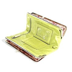 Hobo Leaf Green Lauren Clutch Wallet - Hobo Wallets - Designer Wallets