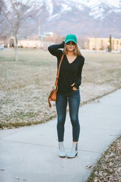 CARA LOREN: Blue Boots and Happiness
