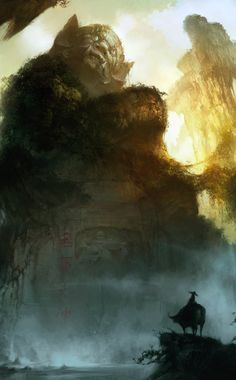 Fantasy Concept Art & CG Illustrations Featuring Lin Wenjun