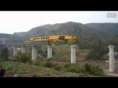 SLJ900/32 Bridge Girder Erection Mega Machine (original)