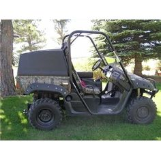 Rhinoback Economy Topper for Yamaha Rhino | $550 - protect all of that gear in your Rhino with this cargo box topper.