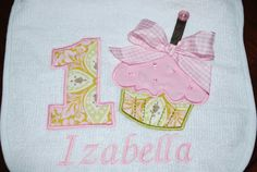 The sweetest Birthday bib for your little by lollipopprincess, $20.00