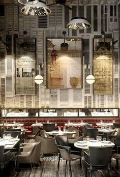 Get to know these Restaurant Design Inspirations! #Interiordesign #lightingdesign #modernstyle
