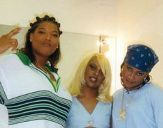 Oh yes it's Ladies Night! Queen Latifah, Lil Kim, Da Brat