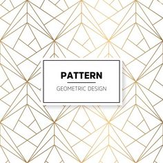 Find some cool patterns with different geometric shapes, colors and let's not forget some of them are vector and can be changed as desired.