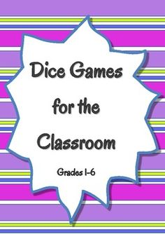 27 Fun and Engaging Math Games with Dice