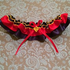 Limited Edition Bombshell Inspired Garter  Super by LilBlueHeart