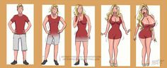 Blonde bombshell transformation by kittymellow on DeviantArt Tg Transformation Comics, Transgender Transformation, Gender Bender Anime, Transgender Comic, Comic Art Girls, Deadpool Costume, Tg Tf, Trans Art, Funny Cartoon Pictures