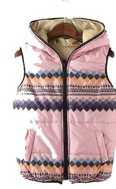 Women Gir LGeometric Hooded Winter Padded Eiderdown Waistcoat Vest Coat Fengbay http://www.amazon.com/dp/B00HSX8ZWM/ref=cm_sw_r_pi_dp_wqgZtb1DD0BNYE7C