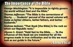 These quotes leave NO  DOUBT that America's Founding Fathers believed in God  used the Bible as the basis for our government!