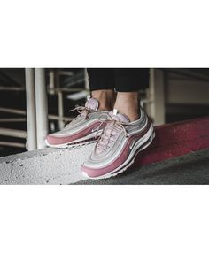 fea6db890c2 Nike air max 97 pink adds a classic style to the sneaker collection.  Designed from nature and a variety of materials