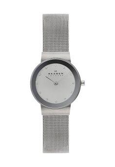 Bestill Skagen FREJA - Klokke - silver-coloured for kr 1095,00 (22.10.16) med gratis frakt på Zalando.no