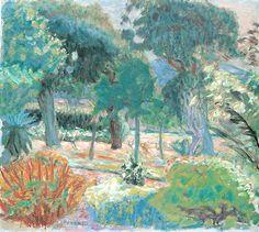 Pierre Bonnard Le Jardin dans Le Var cm 51X57