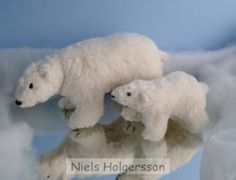 Nature Table, Polar Bear, Needle Felting, Animals, Deco, School, Crafts, Polar Bears, Felting