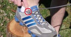 Why Your Shoes Have Extra Holes At The Top (Video) #fashion, #tips, #running shoes