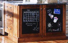 Create a Kitchen Message Center