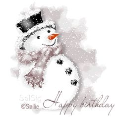 weihnachten aquarell ink and watercolour snowman - - Watercolor Christmas Cards, Christmas Drawing, Christmas Paintings, Watercolor Cards, Christmas Art, Watercolor Paintings, Watercolors, Handmade Christmas, Frosty The Snowmen