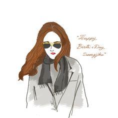 Soong #fashion #fashionillustrator #fashionillustration #photoshop # draw #fashion #pmillustrator