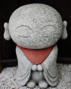 """Zen Buddhism. Smiling """"Jizo"""""""