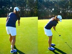 "To sharpen your feel around the green, you need to learn to visualize a shot before you execute it. Since this skill requires practice, I ask my my students to do a drill called, ""Rehearse and Recreate.""   Read More http://www.golfdigest.com/golf-digest-woman/blogs/golf-digest-woman/2013/04/tips-for-her-rehearse-and-recr.html#ixzz2RtjcCVs4"
