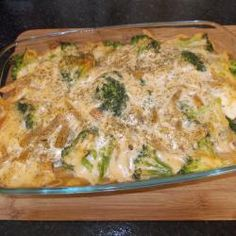 Creamy Chicken and Broccoli Bake (Super Low Fat) recipe - All recipes UK Chicken Broccoli Bake, Cooking Recipes, Healthy Recipes, Fodmap Recipes, Simple Recipes, Healthy Meals, Yummy Recipes, Healthy Food, Recipies