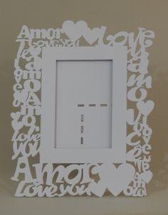 Porta Retrato Mdf Love Branco Kit Lembrancinha 10 Peças - R$ 159,00 no MercadoLivre