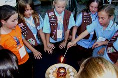 """This is a GREAT article! Why older girls should stay in Girl Scouts (even if it's not """"popular"""" or cool!)"""