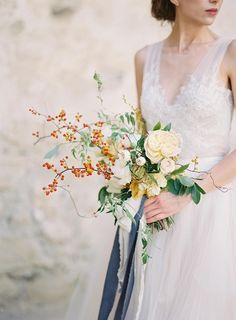 Wedding Bouquet Ethereal Forbidden Love Story in Ancient Ruins Natural Wedding Flowers, Spring Wedding Flowers, Bridal Flowers, Floral Wedding, Bride Bouquets, Bridesmaid Bouquet, Daisy Bouquet Wedding, Floral Bouquets, Dress Wedding