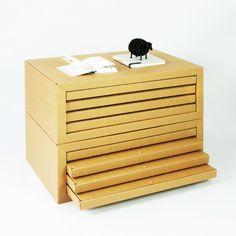 Stange Design, Pappmöbel made in Berlin, Zeichenschrank