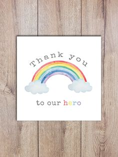 nhs thank you art Rainbow Drawing, Rainbow Art, Rainbow Colors, Christmas Pebble Art, Thank You Poster, Rock Crafts, Stone Painting, Design Projects, Thank You Cards