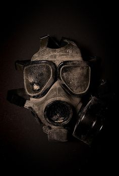 old Gas Mask With  | photo