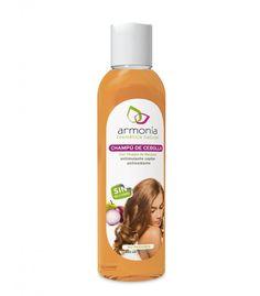 Champú de cebolla de Armonía Cosmética Natural – Para frenar la caída del cabello y eliminar la caspa - Ecobelleza, cosmética ecológica certificada