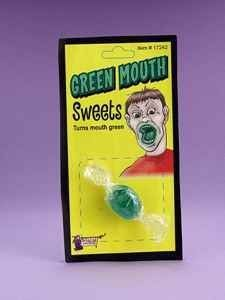 Green Mouth Candy Novelty Toy by Forum Novelties. $0.90. Green Mouth Candy Novelty Toy