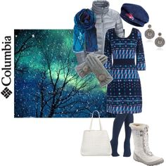 """""""Out in the first snow"""" by maria-kuroshchepova on Polyvore"""