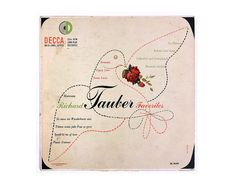 Erik Nitsche record album design 1952. Richard by NewDocuments, $15.00