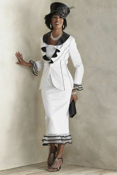 Sherene Skirt Suit from ASHRO