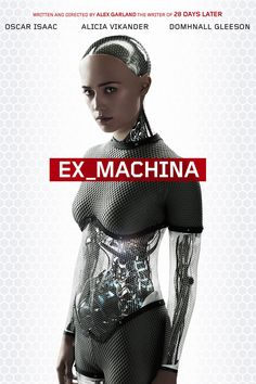 ex machina poster - Great movie. The Turing Test has been passed