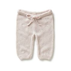 Baby Clothes Pants & Shorts | Nb Fleck Knit Pants | Seed Heritage (24 CAD) found on Polyvore