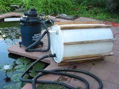 diy pond vacuum!!