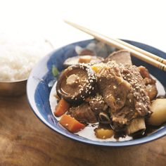 Roy Choi shares a family recipe for Korean-style braised short-rib stew - Roy Choi pioneered Korean-Mexican fusion in Los Angeles, but before he was slinging short-rib tacos, he was raised on a more traditional Korean delicacy: braised short-rib stew. Here's his mom's Korean-style braised short-rib stew recipe, which may or may not be better than every other Korean mom's version.