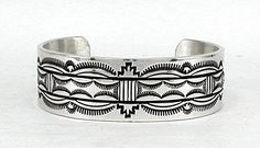 Each one more beautiful than the next - rich deep stamping on heavy sterling silver - the hallmark of Bruce Morgan