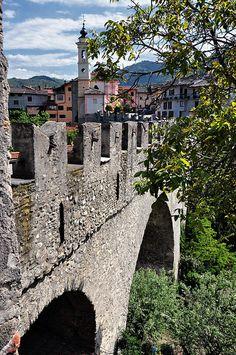Ponte di Dronero, Cuneo #pontedeldiavolo #italy #piedmont