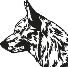Australian Cattle Dog Blue Heeler Coloring Pages Sketch