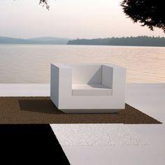 Fauteuil design terrasse lounge  Vela Vondom